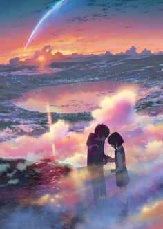 your name. Anime Film Earns Billion Yen to Surpass Princess Mononoke KanColle film debuts at In This Corner of the World rises to Makoto Shinkai's your name. (Kimi no Na wa.) anime film has earned Manga Anime, Film Anime, Hayao Miyazaki, Me Me Me Anime, Anime Love, Animation, Cool Animes, Anime Pokemon, Anime Plus