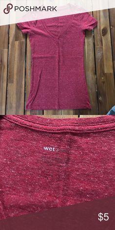 Wet Seal v-neck XS Wet Seal Tops Tees - Short Sleeve