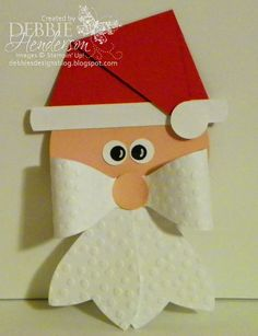 Debbie's Designs: Bow Die Santa Kits!