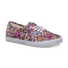 Floral Vans...just got these and am obsessed! Perfect for spring/summer!!