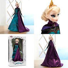 Limited Edition Disney Store Coronation Elsa Doll by Madambrightside, via Flickr