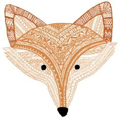 Golden Fox Art Print by GoldenFoxDesigns