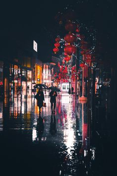 Atmospheric rain photography of a city street at night Rain Photography, Creative Photography, Street Photography, Landscape Photography, Travel Photography, Photography Classes, Rainy Wallpaper, Wallpaper Backgrounds, Urbane Fotografie