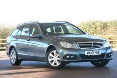 Used 2011 (61 reg) Grey Mercedes-Benz C Class C200 CDI BlueEFFICIENCY SE Edition 125 5dr for sale on RAC Cars