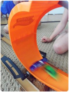 A great gift for Hot Wheels fans - it even includes an upside down loop and a snare that captures cars