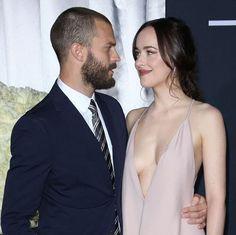 Dakota and Jamie   Fifty Shades Darker LA Premiere