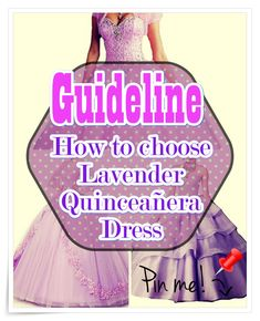 Lavender Quinceanera dress - Essentially the most important planning actions for the Quinceanera party, if not the most vital one, is the number of the Quinceanera dress. Lavender Quinceanera Dresses, Quinceanera Party, Different Patterns, Young Women, Snow White, Ballet Skirt, Feminine, Gowns, Number
