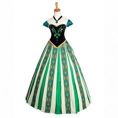 Frozen Cosplay Princess Anna Costume, Anna Coronation Cosplay Party Dress Custom Any Size For adult,Kids And Plus Size Adult Princess Costume, Adult Disney Costumes, Disney Characters Costumes, Disney Princess Costumes, Couple Halloween Costumes For Adults, Couple Costumes, Character Costumes, Frozen Cosplay, Frozen Costume