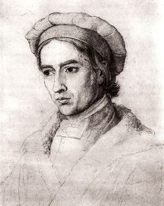 Johann Friedrich Overbeck Selbstbildnis 1830 - Friedrich Overbeck – Wikipedia