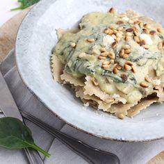 Ravioli, Pasta, Avocado Toast, Yummy Food, Healthy Food, Love Food, Nom Nom, Vegetarian Recipes, Food And Drink