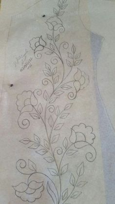 Hand Embroidery Design Patterns, Crewel Embroidery Kits, Embroidery Flowers Pattern, Vintage Embroidery, Machine Embroidery Designs, Embroidery Needles, Embroidery Ideas, Quilt Patterns, Applique