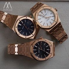 Pick 'n' Mix!!!  which AP Royal Oak 41mm in rose gold will you go for?