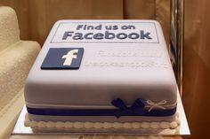 Facebook Cake