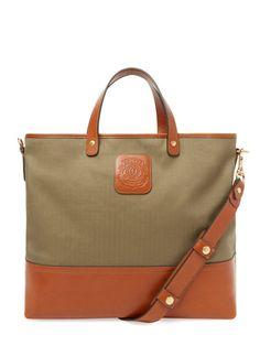 Editor No 271 Tote Bag by Ghurka at Gilt