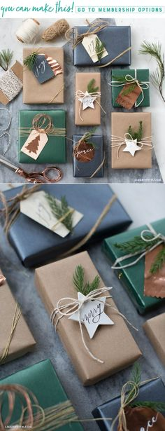 Patterns Templates for Unique Gift Tags That You Can Make Today Lia Griffith Christmas gift ideas unusual Xmas ideas Out of all issues that we have previously discover. Holiday Gift Tags, Christmas Gift Wrapping, Diy Christmas Gifts, Christmas Decorations, Christmas Ideas, Simple Christmas, Creative Gift Wrapping, Wrapping Gifts, Simple Gift Wrapping Ideas