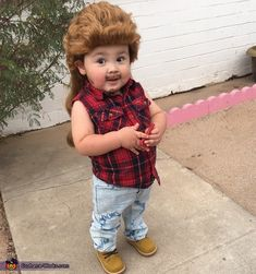 Joe Dirt Baby Costume - 2015 Halloween Costume Contest