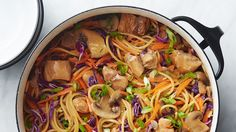 Just when you thought chicken lo mein couldn't get any better, we went and figured out a way to make it easier using just one pot. Now there's basically no excuse not to make it at home whenever the mood strikes.