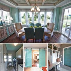 Shared by FB's House of Turquoise: Tons of inspiring details in this beautiful Louisville home designed by Set The Stage and Lady of the House Interior Design! You have to see the master bedroom and bathroom too...seriously gorgeous! Take the entire tour here: http://www.houseofturquoise.com/2013/08/karista-hannah-and-lauren-harp.html