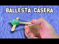 Como Hacer una Mini Ballesta Casera   How to make a Mini Crossbow Homemade - YouTube