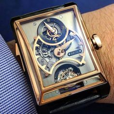 ArtyA 3 Gongs Minute Repeater, Regulator & Double Axis Tourbillon.
