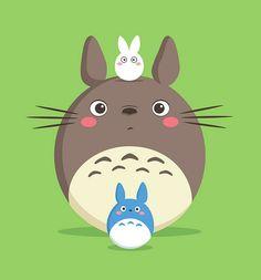 Totoro by Jerrod Maruyama, via Flickr