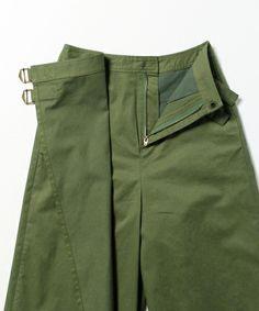 Ray BEAMS (Ray Beams) - Ray BEAMS / W belt wrap culottes (pants) | BEAMS official mail order [BEAMS Online Shop]