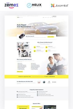 ReCar is a Joomla theme developed for car repair services. It is a reliable multipage website template with attractive design. The New School, New School Year, Joomla Themes, First Website, Car Repair Service, Joomla Templates, News Sites, Drupal, Create Website