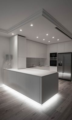 Home Decor Kitchen .Home Decor Kitchen Luxury Kitchen Design, Kitchen Room Design, Dream Home Design, Kitchen Cabinet Design, Home Decor Kitchen, Modern House Design, Interior Design Kitchen, Home Kitchens, Dream Kitchens