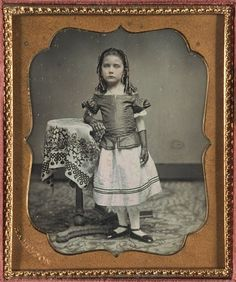 "Charles F. Hamilton, ""Untitled [Young Girl in Bloomers]"" (ca. 1850) 
