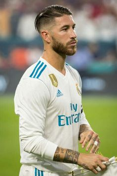 Sergio Ramos Real Madrid Ramos Haircut, Ramos Real Madrid, My Dream Team, Messi And Neymar, Ronaldo Real Madrid, Real Madrid Players, Best Player, Haircuts For Men, Cristiano Ronaldo