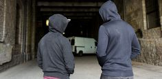Young people from poor backgrounds are being radicalised by criminal gangs.