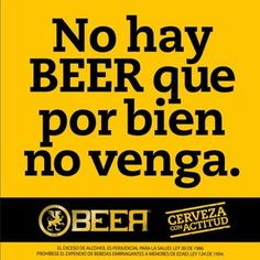 No hay Beer que por bien no venga
