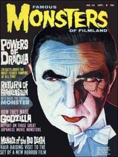 Great googly-moogly, did I love this magazine! A monthly dose of Halloween!