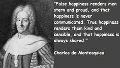 Charles Montesquieu Quotes. QuotesGram