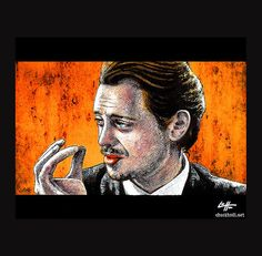 Items similar to Print - Worlds Smallest Violin - Mr Pink Steve Buscemi Quentin Tarantino Reservoir Dogs Pop Art Lowbrow Crime Guns Blood Comedy on Etsy Steve Buscemi, Reservoir Dogs, Quentin Tarantino, Lowbrow Art, Man Alive, Small World, Pulp Fiction, Dark Art, Violin