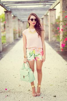 SPRING in Florals and Pastels... | Nanys Klozet | Miami Fashion Blog