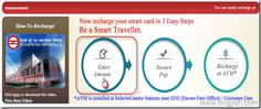 Now Recharge Your Delhi Metro Smart Card Online- Step by Step Guide