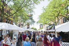 Behind-the-scenes of the 2013 Ann Arbor Art Fair