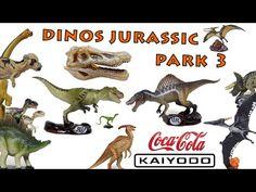 Dinos Jurassic Park 3 (Kaiyodo & Coca Cola)