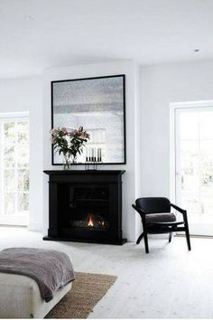 statement fireplace.