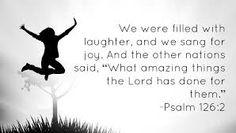 Joy is coming!