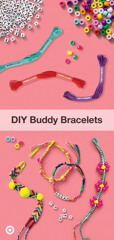 Diy Crafts Jewelry, Fun Diy Crafts, Bracelet Crafts, Bead Crafts, Cute Jewelry, Beaded Jewelry, Jewlery, Diy Bracelets Patterns, Diy Friendship Bracelets Patterns