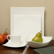 @Overstock - Smooth, modern lines define this 5-piece dinnerware set from Red Vanilla.   http://www.overstock.com/Home-Garden/Red-Vanilla-Extreme-White-5-piece-Dining-Set/4395384/product.html?CID=214117 $56.99