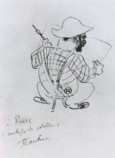 """Анри де Тулуз-Лотрек """"Автопортрет"""", 1896...."""