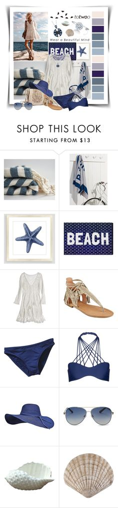 """""""Totwoo global launch"""" by diva1023 ❤ liked on Polyvore featuring Cost Plus World Market, Oliver Gal Artist Co., Big Buddha, Calypso St. Barth, Sigerson Morrison, Patagonia, Mikoh and Valentino"""