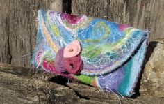 Dreamscape Floral by theArtsyClutch on Etsy