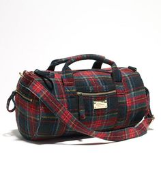Downeaster Sport Wool Bag, Plaid....this bag makes me want to pack it full of Bean goodies and vacation in Scotland! Dreams...