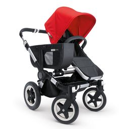 Bugaboo Donkey Stroller Base 2015 is ideal for families of multiples or growing families! This stylish stroller offers ample seating and storage!