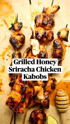 Healthy Grilling Recipes, Cooking Recipes, Healthy Grilled Chicken Recipes, Grilled Chicken Skewers, Summer Chicken Recipes, Grilled Chicken Thighs, Chicken Marinade Recipes, Marinated Chicken, Barbecue Recipes