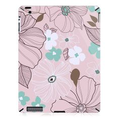 Sketches of Flowers iPad 2 Case